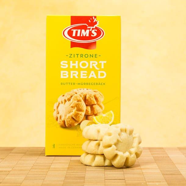 Shortbread Zitrone Tims Kanadische Backwaren mit Verpackung