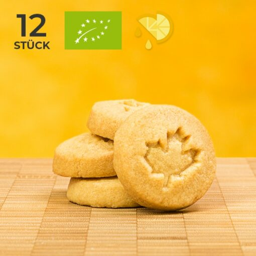 BIO Shortbread Zitrone - Tims Kanadische Backwaren