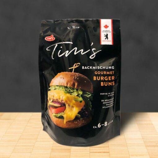 Tims Gourmet Burger Buns Backmischung - Tims Kanadische Backwaren