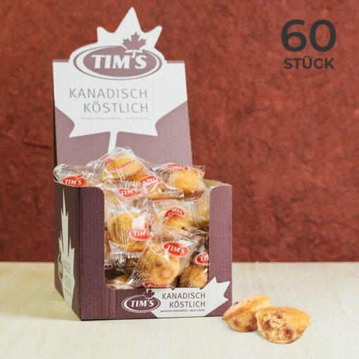 60 Stück Mini Blondies im Vorteilspack einzeln verpackt