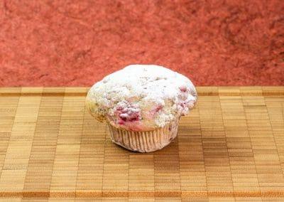 1006 - Muffin mit Himbeeren